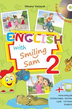 "Підручник для 2 класу ""English with Smiling Sam 2"". Аудіододаток https://web.lihtar.in.ua/library/osvita-dlja-ditey/audiododatok-do-pidruchnyka-dlja-2-klasu-english-with-smiling-sam-2"